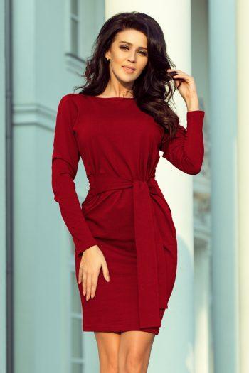 Rochie de zi Numoco roşu