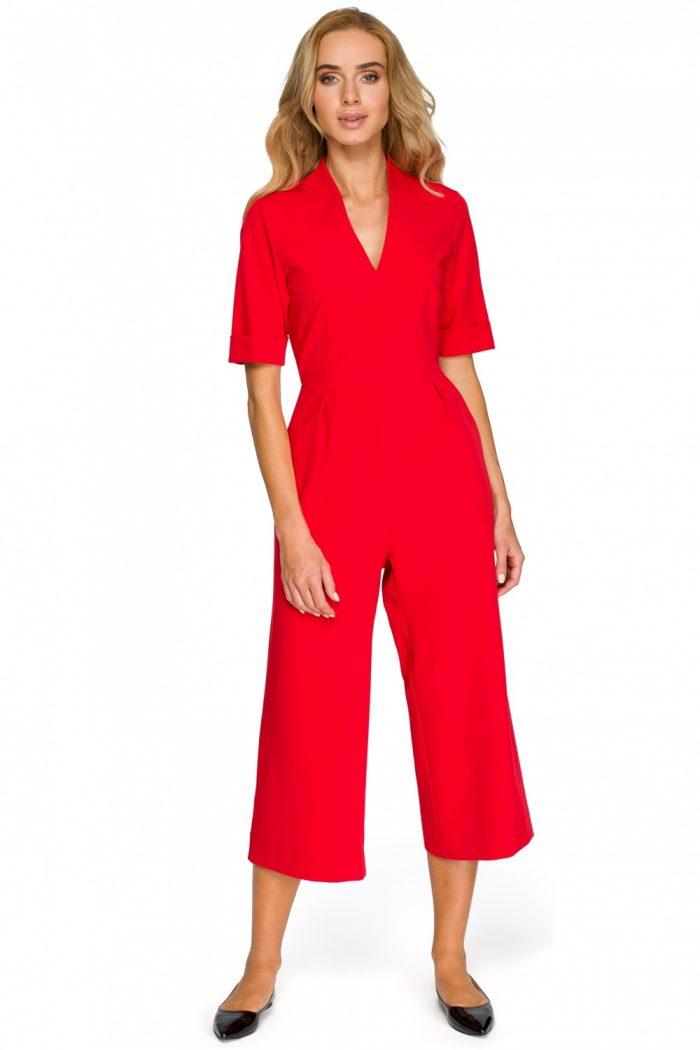 Salopetă Style roşu