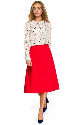 Fustă Style roşu