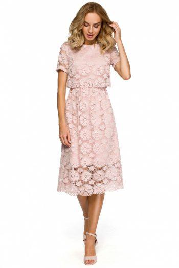 Rochie de seară Moe roz