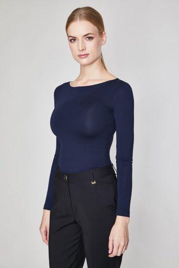 Bluză Click Fashion Bleumarin