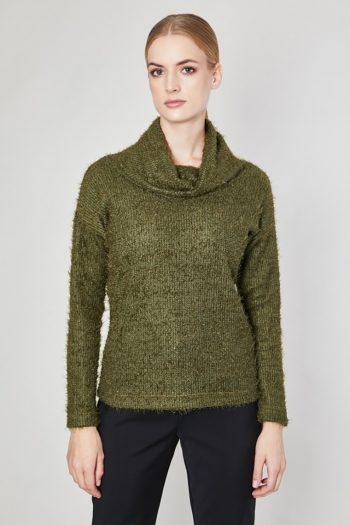 Helancă Click Fashion verde