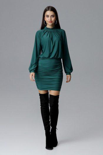 Rochie elegantă Figl verde