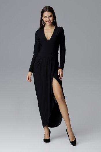 Rochie lungă Figl negru