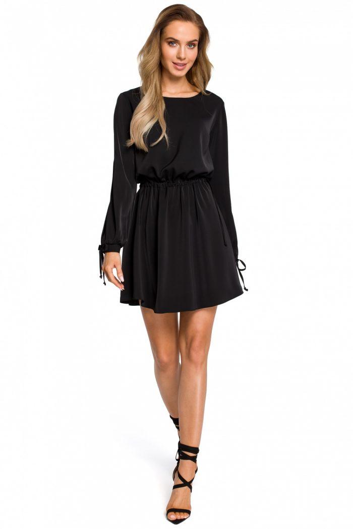 Rochie elegantă Moe negru