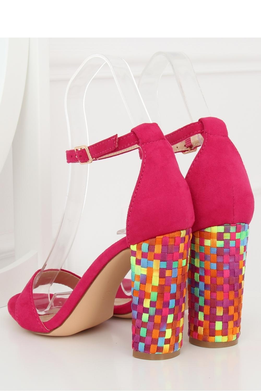 Sandale cu toc culoarea roz – 127974