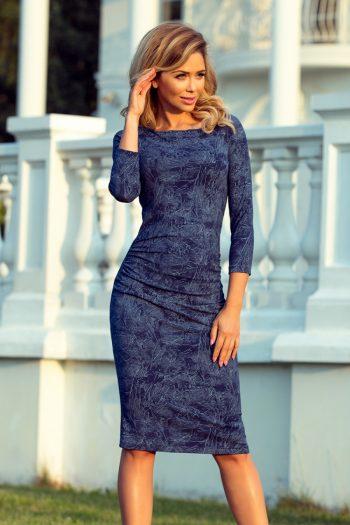 Rochie de zi Numoco Bleumarin