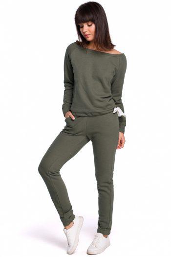 Pantaloni de trening BE verde