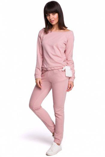 Pantaloni de trening BE roz