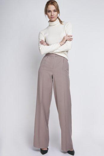 Pantaloni de damă Lanti bej