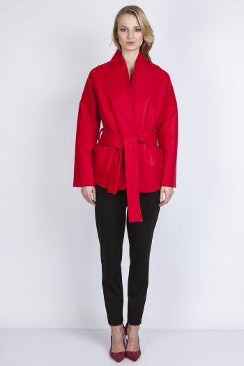 Palton Lanti roşu