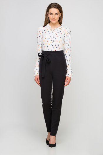Pantaloni de damă Lanti negru