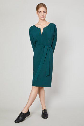 Rochie de zi Click Fashion verde