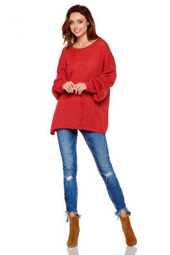 Pulover Lemoniade roşu