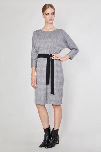 Rochie de zi Click Fashion gri