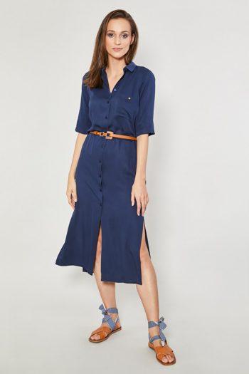 Rochie de zi Click Fashion Bleumarin