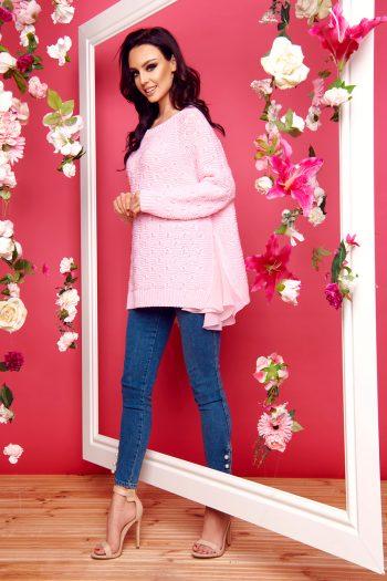 Pulover Lemoniade roz