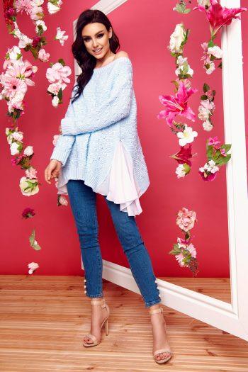 ~Sweter Lemoniade albastru