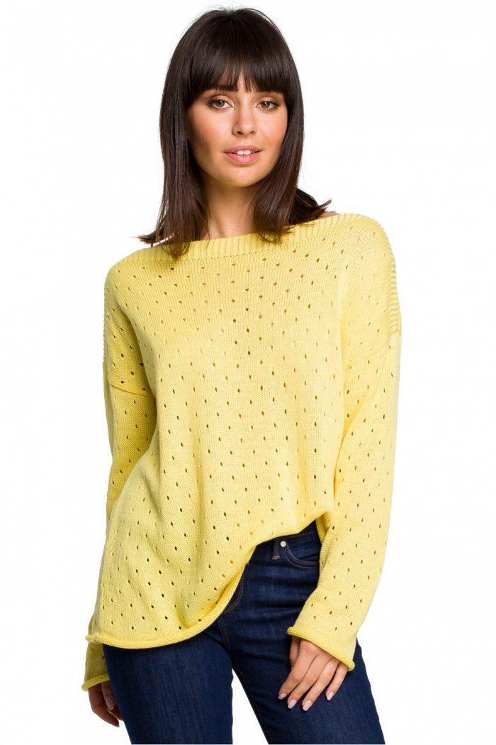 ~Sweter BE Knit galben
