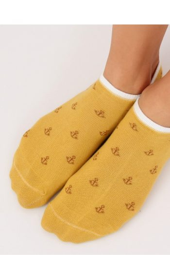 Papuci Inello galben