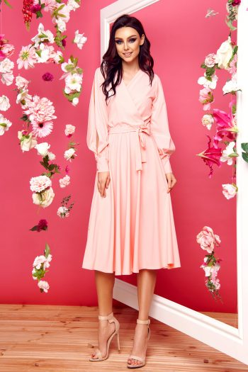 Rochie elegantă Lemoniade roz