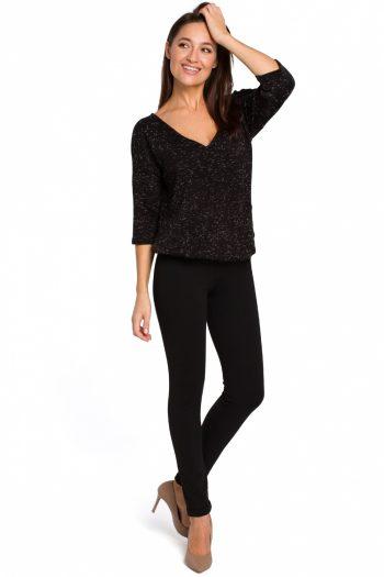Pantaloni lungi Style negru