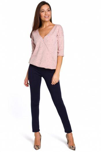 Pantaloni lungi Style Bleumarin