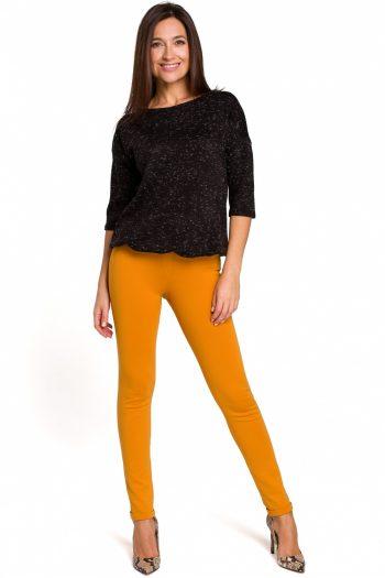 Pantaloni lungi Style galben