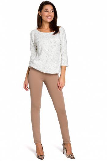 Pantaloni lungi Style bej