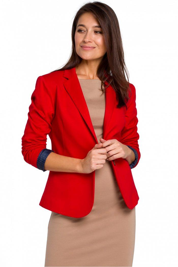 Sacou Style roşu