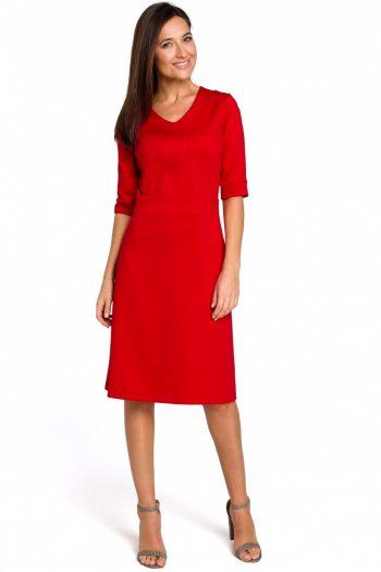 Rochie de zi Style roşu