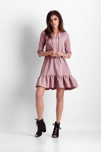 Rochie de zi IVON roz