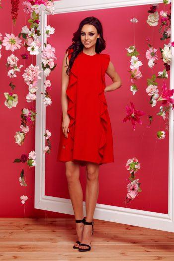 ~Sukienka wizytowa Lemoniade roşu