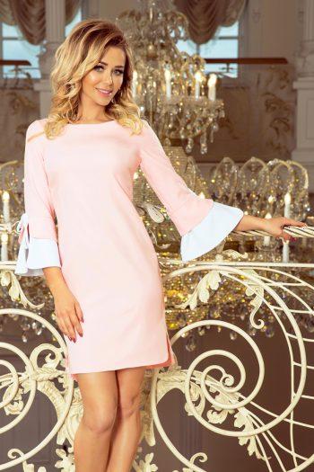 Rochie elegantă Numoco roz