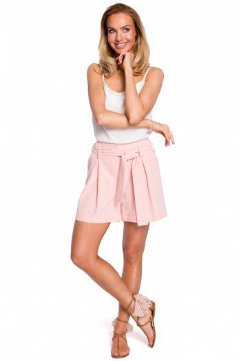Pantaloni scurţi Moe roz