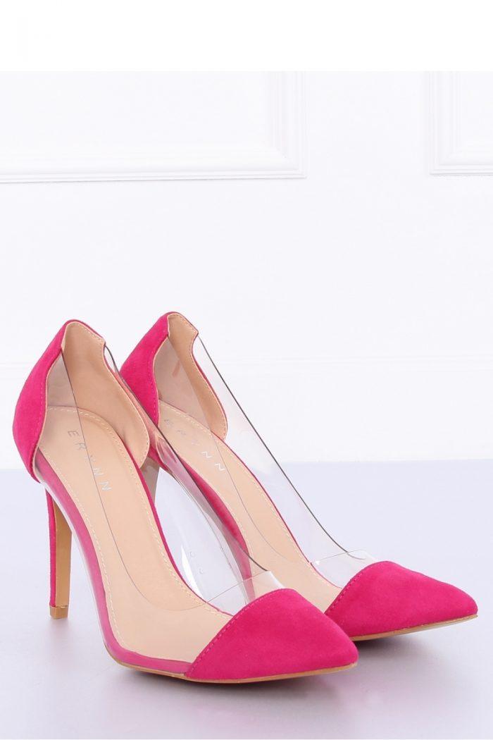 Pantofi stiletto culoarea roz