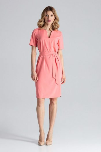 Rochie de zi Figl roz