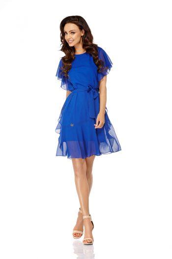 ~Sukienka wizytowa Lemoniade albastru