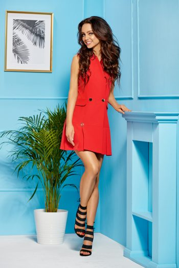 ~Sukienka dzienna Lemoniade roşu