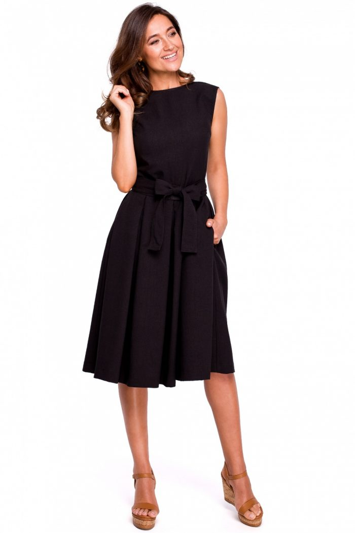Rochie de zi Style negru