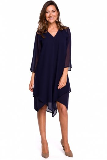 ~Sukienka wizytowa Style Bleumarin