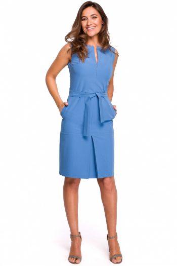 ~Sukienka dzienna Style albastru