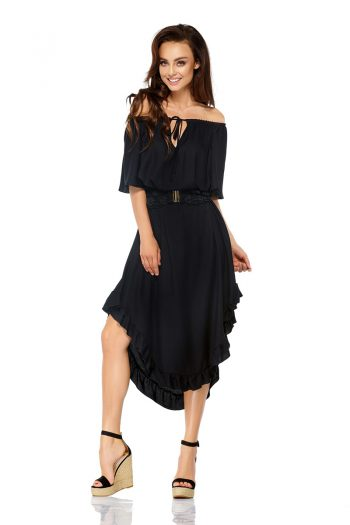 Rochie de seară Lemoniade negru