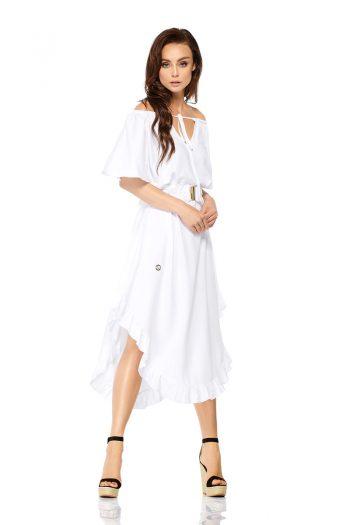 Rochie de seară Lemoniade alb