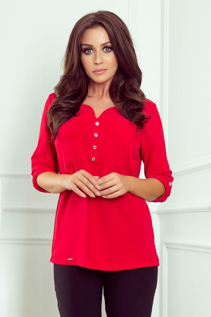 Bluză Numoco roşu
