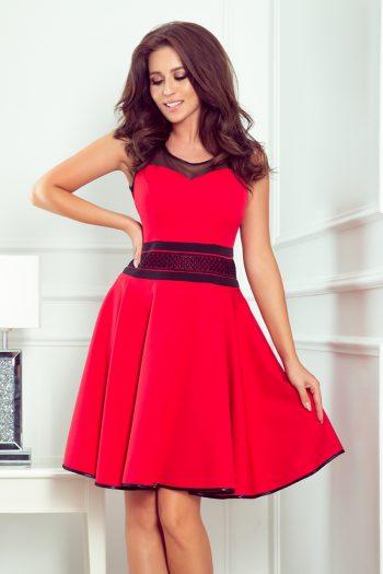 Rochie elegantă Numoco roşu