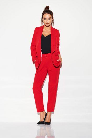 Pantaloni de damă Lemoniade roşu