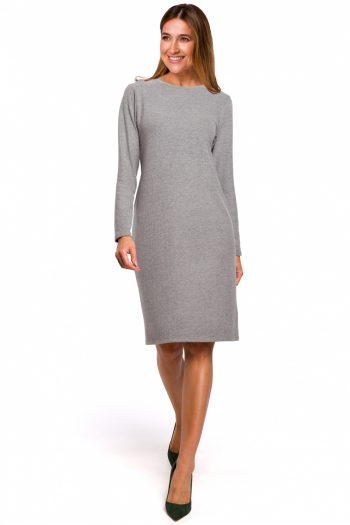 Rochie de zi Style gri