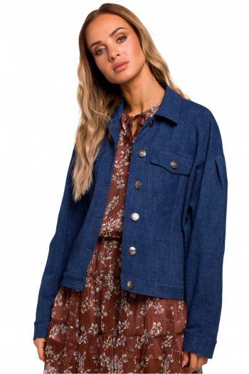 Jachetă Moe Bleumarin