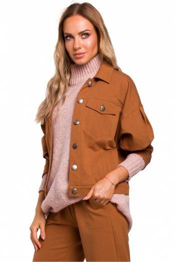 Jachetă Moe maro